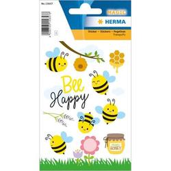 Sticker Cute Bees