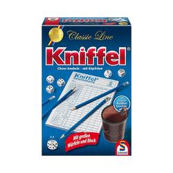 Schmidt Spiele Spiel, Kniffel, Classic Line mit Lederbecher und