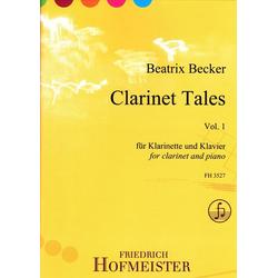Clarinet Tales Vol. 1 für Klarinette und Klavier. Vol.1