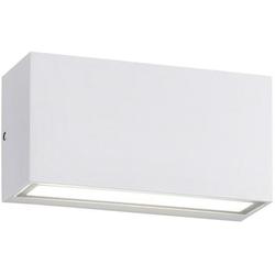 TRIO Leuchten LED Außen-Wandleuchte TRENT, UP and DOWN Beleuchtung weiß
