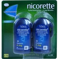 NICORETTE Freshmint 4 mg Lutschtablette 80 St.