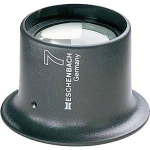 Eschenbach 11245 Uhrmacherlupe Vergrößerungsfaktor: 5 x Linsengröße: (Ø) 25mm Anthrazit