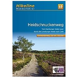 Hikeline Wanderführer Heidschnuckenweg - Buch