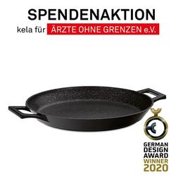 Grill- und Paellapfanne Stella Nova Aluguss schwarz 4,5cm 36,0cmØ
