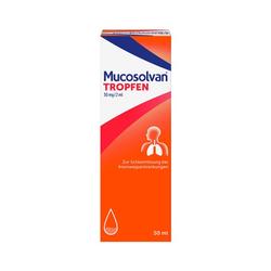 MUCOSOLVAN Husten-Tropfen 50 ml bei verschleimten Husten 50 ml