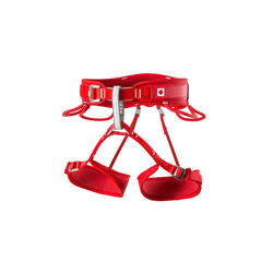 Ocun Klettergurt Twist Tech Lady, Red Gurtfarbe - Rot, Gurtart - Hüftgurt, Gurtgewicht - 301 - 400 g, Gurtgröße - L - XL,