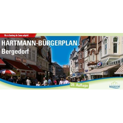 HARTMANN-PLAN Bergedorf 1:20.000