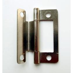 Klappenscharnier Länge 50 mm vernickelt