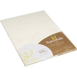 Papier Strohpapier A4 200g/qm VE=20 Blatt A4 200g/qm elfenbein