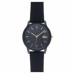 Lacoste .12.12 Zegarek kwarcowy ze plastikowy schwarz