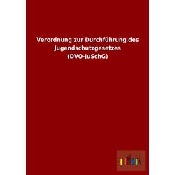 Verordnung zur Durchführung des Jugendschutzgesetzes (DVO-JuSchG) als Buch von ohne Autor