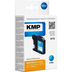 KMP KMP Druckerpatrone ersetzt Brother LC-22UC Cyan Tintenpatrone
