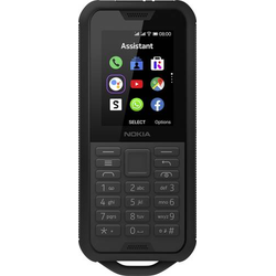 Nokia 800 Tough Outdoor-Handy Schwarz