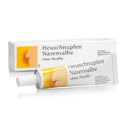 Heuschnupfen Nasensalbe