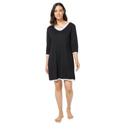 wäschepur Nachthemd Nachthemd schwarz 40/42