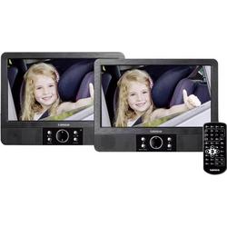 Lenco MES-405 Kopfstützen DVD-Player mit 2 Monitoren Bilddiagonale=22.5cm (9 Zoll)