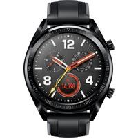 Huawei Watch GT schwarz edelstahl / graphitschwarz