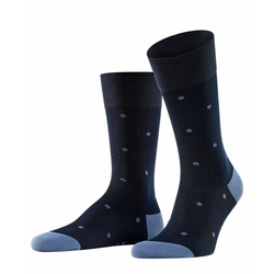 FALKE Socken Dot (1-Paar) mit hoher Farbbrillianz blau 47-50