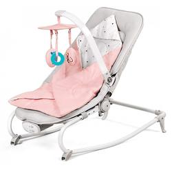 Kinderkraft Felio 3in1 Babywippe Babyschaukel Schaukelsitz Wippe Pink