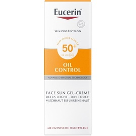 Eucerin Sun Oil Control Gel-Creme LSF 50+ 50 ml