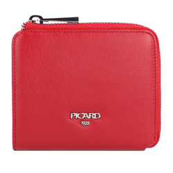 Picard Bingo Geldbörse Leder 11,5 cm rot