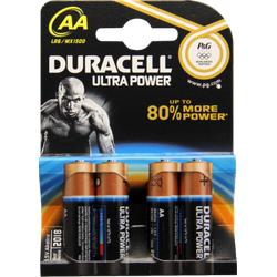 DURACELL Ultra Power AA (MN1500/LR6) K4 m.Powerch. 4 St
