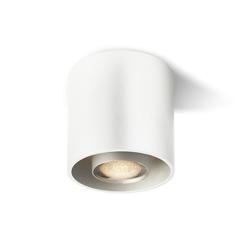 Cranny Round LED Spot - weiß / weiß