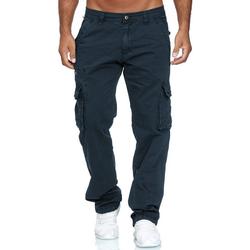 Max Men Cargohose 2875 Herren Cargohose Arbeitshose mit Seitentaschen blau