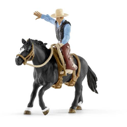 Schleich Farm World 41416 Saddle bronc riding mit Cowboy 41416