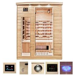 HOME DELUXE Infrarotkabine Gobi L, BxTxH: 150 x 110 x 190 cm, 50 mm, für bis zu 3 Personen