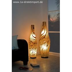 Exklusive große Fiberglas Stehlampe, Leuchten