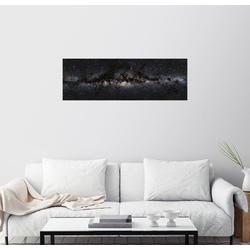 Posterlounge Wandbild, Milchstraße 60 cm x 20 cm