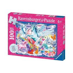 Ravensburger Puzzle Puzzle, 100 Teile XXL, 49x36 cm, mit Glitzer, Die, Puzzleteile