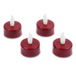 4 LED-Teelichter