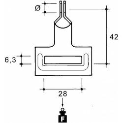 Niedax Seilbefestigung NM65-AH38