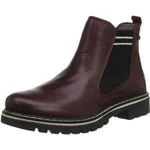 camel active Canberra 80, Damen Chelsea Boots, Rot (Oxblood 2), 35.5 EU (3 UK)