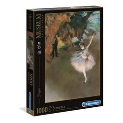 Clementoni® Puzzle Degas Ballet Museum Collection 1000 Teile Puzzle, 1000 Puzzleteile