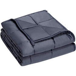 Gewichtsdecke, Schwere Decke Anti Stress Beschwerte Decke Gewichtete Decke Weighted Blanket, COSTWAY 122 cm x 183 cm
