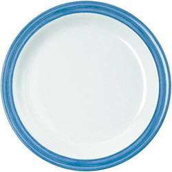 Dessertteller 19,5 cm Bistro - weiss/blau