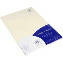 Papier Verge A4 100g/qm VE=50 Blatt elfenbein