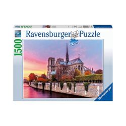 Ravensburger Puzzle Puzzle 1500 Teile, 80x60 cm, Malerisches Notre, Puzzleteile