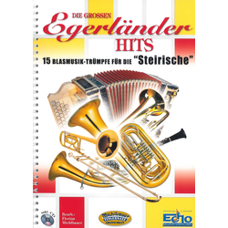 Die großen Egerländer Hits mit CD