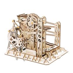 ROKR 3D-Puzzle Kugelbahn / Marble Run, 260 Puzzleteile