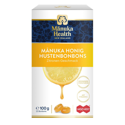 MANUKA HEALTH MGO 400+ Hustenbonbons Zitrone