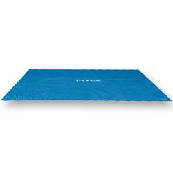 Steinbach Solarnoppenfolie für Intex Swimming Pools,blau,für Ultra Frame 549 x 274 cm