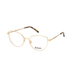 DKNY DK 1017 717, inkl. Gläser, Cat Eye Brille, Damen