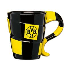 Borussia Dortmund Tasse BVB-Tasse mit Schal-Design