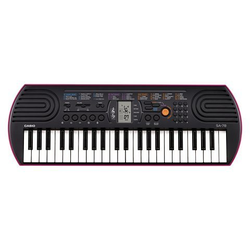 CASIO Keyboard Mini-Keyboard SA-78, mit 44 Minitasten