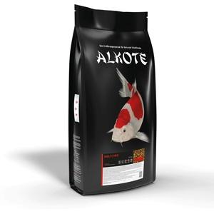 AL-KO-TE, 1-Jahreszeitenfutter für Kois und Zierfische, Sommermonate, Schwimmende Pellets, 3 mm, Hauptfutter Multi Mix, 9 kg