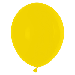 Luftballons gelb Ø 250 mm, Größe 'M', 100 Stk.